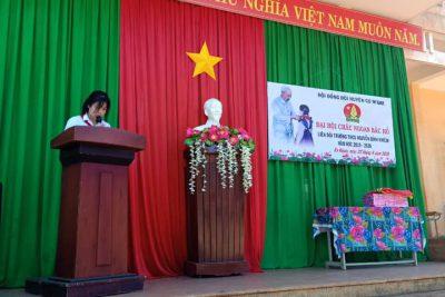 Liên đội NBK đã tổ chức thành công Đại hội cháu ngoan Bác Hồ cấp Liên đội.